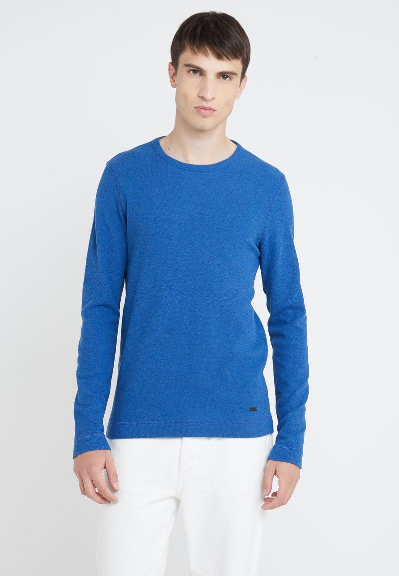 BOSS - TEMPEST - Strikkegenser - medium blue