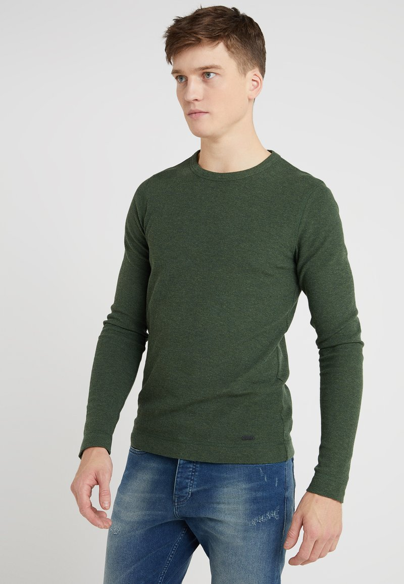 BOSS - TEMPEST - Pullover - open green