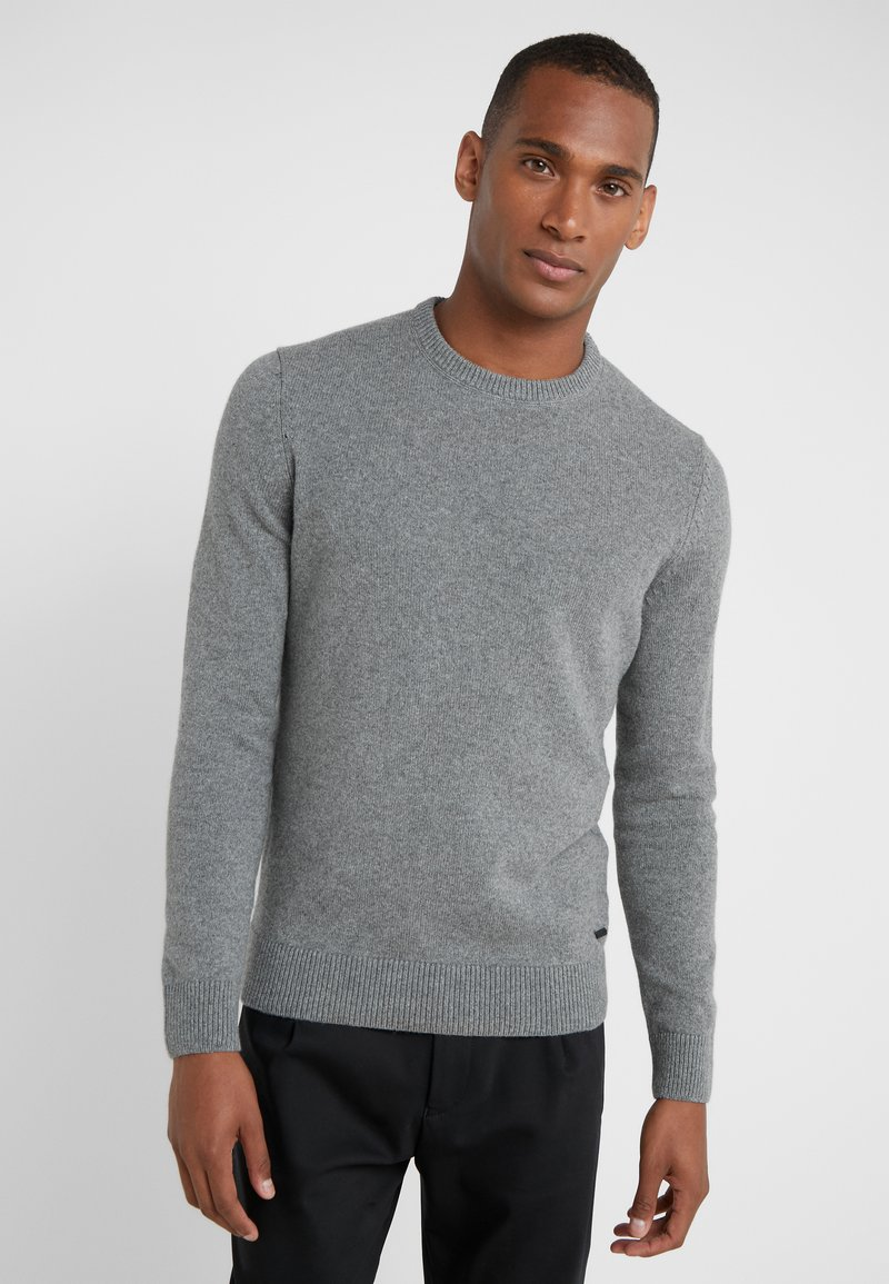 BOSS - AMBOTREVO - Jumper - light/pastel grey