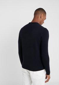 BOSS - AMBOTREVO - Stickad tröja - navy - 2