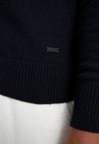 BOSS - AMBOTREVO - Stickad tröja - navy - 6
