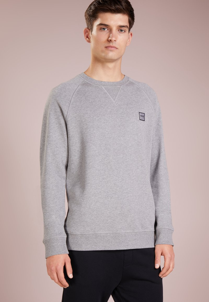 BOSS - WYAN - Felpa - light pastel grey