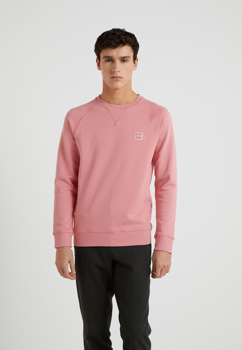 BOSS - WYAN - Felpa - medium pink