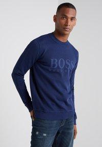 BOSS - WEAVE  - Felpa - open blue - 0
