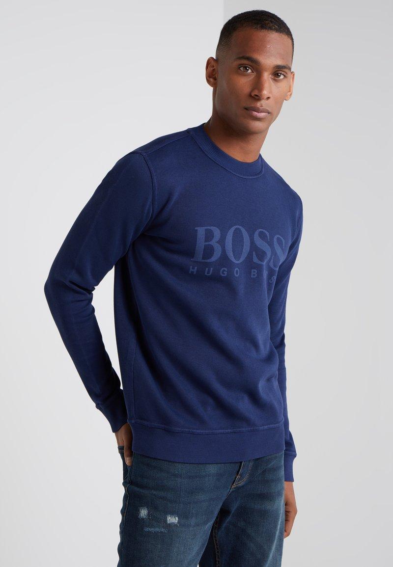 BOSS - WEAVE  - Felpa - open blue