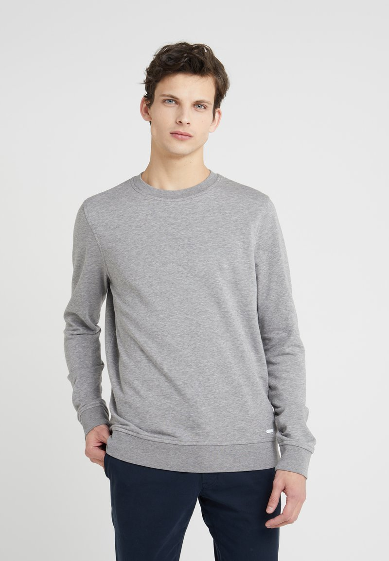 BOSS - TRUECREW - Sweatshirt - light/pastel grey