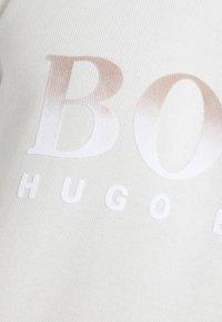 BOSS - WEAVER - Sudadera - light beige - 5