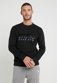 BOSS - WEAVER - Sweatshirt - black - 0