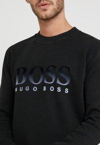 BOSS - WEAVER - Sweatshirt - black - 5