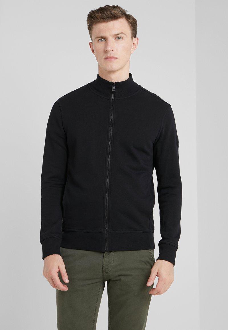BOSS - ZKYBOX - veste en sweat zippée - black