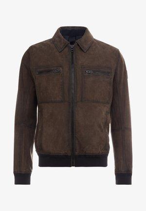 JOAST - Leather jacket - brown