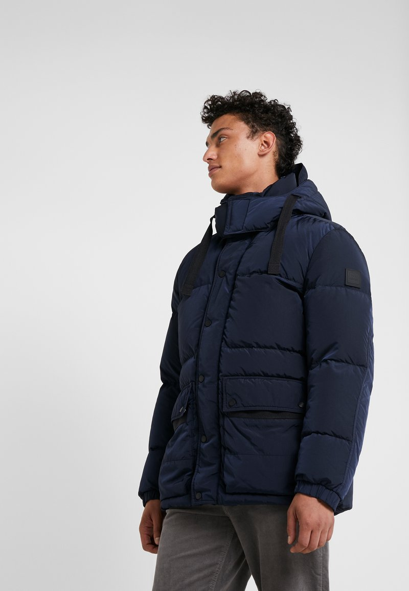 BOSS - ODOORO - Piumino - dark blue