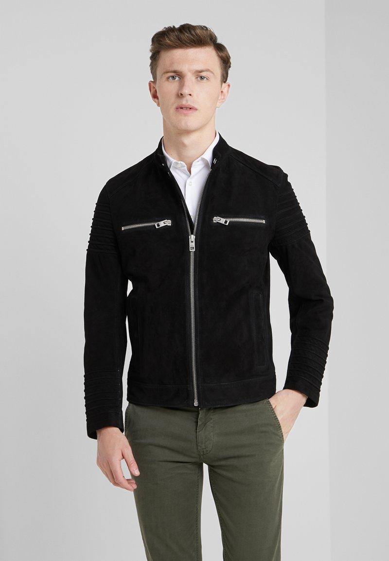 BOSS - JOKE - Leren jas - black