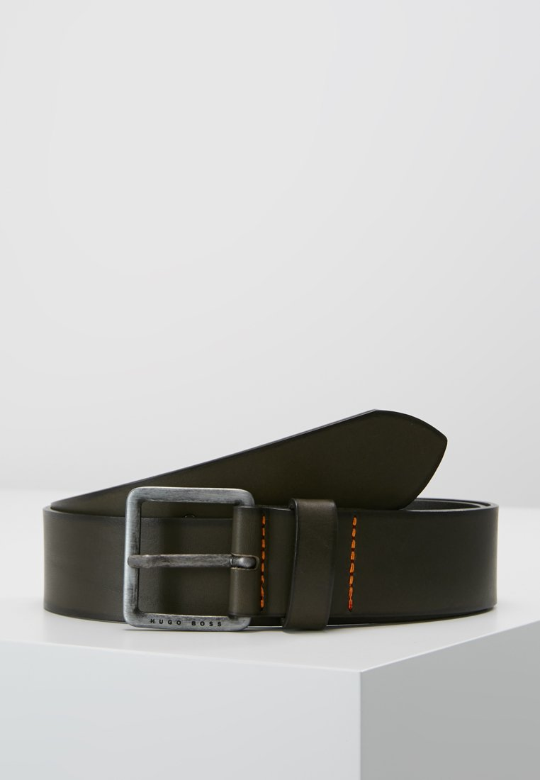 BOSS - JEEKO - Belt business - dark grey