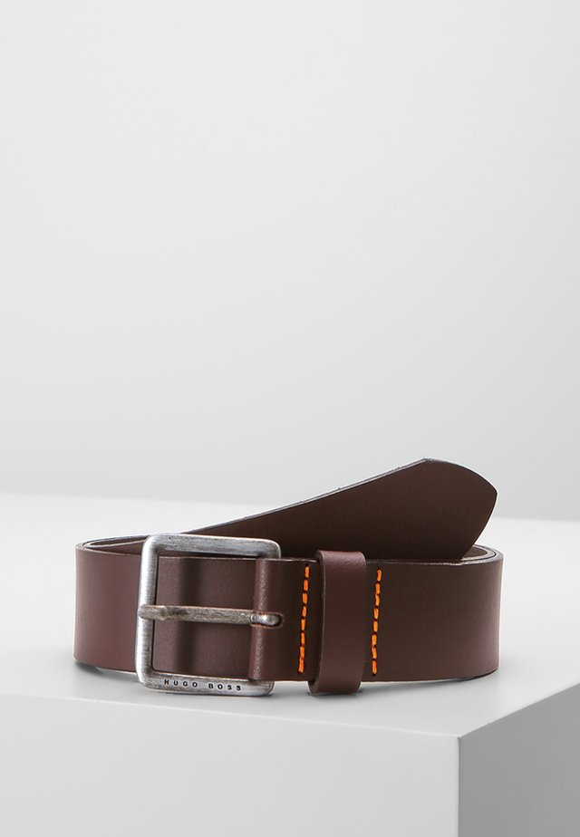 JEEKO - Gürtel business - dark brown
