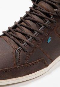 Boxfresh - SWAPP - Sneakers high - bitter choc - 5