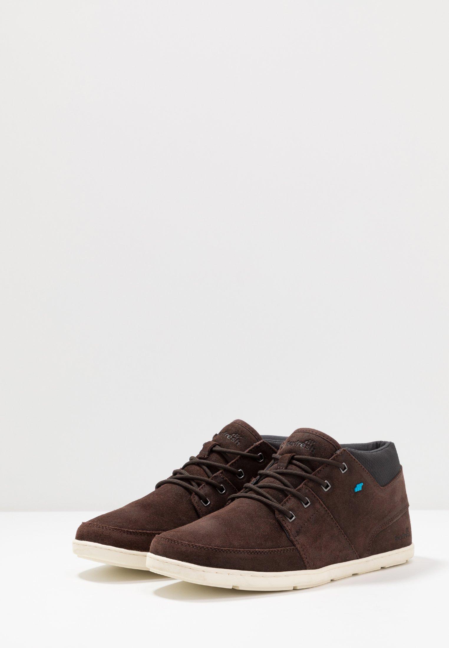 Boxfresh CLUFF - Sneakers alte - dark brown
