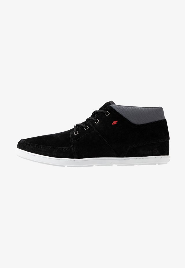 CLUFF - Höga sneakers - black