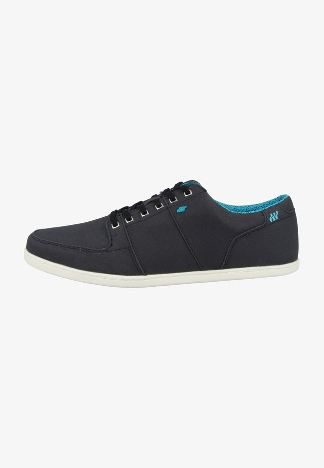 SPENCER SOFT FLECK - Trainers - black/blue