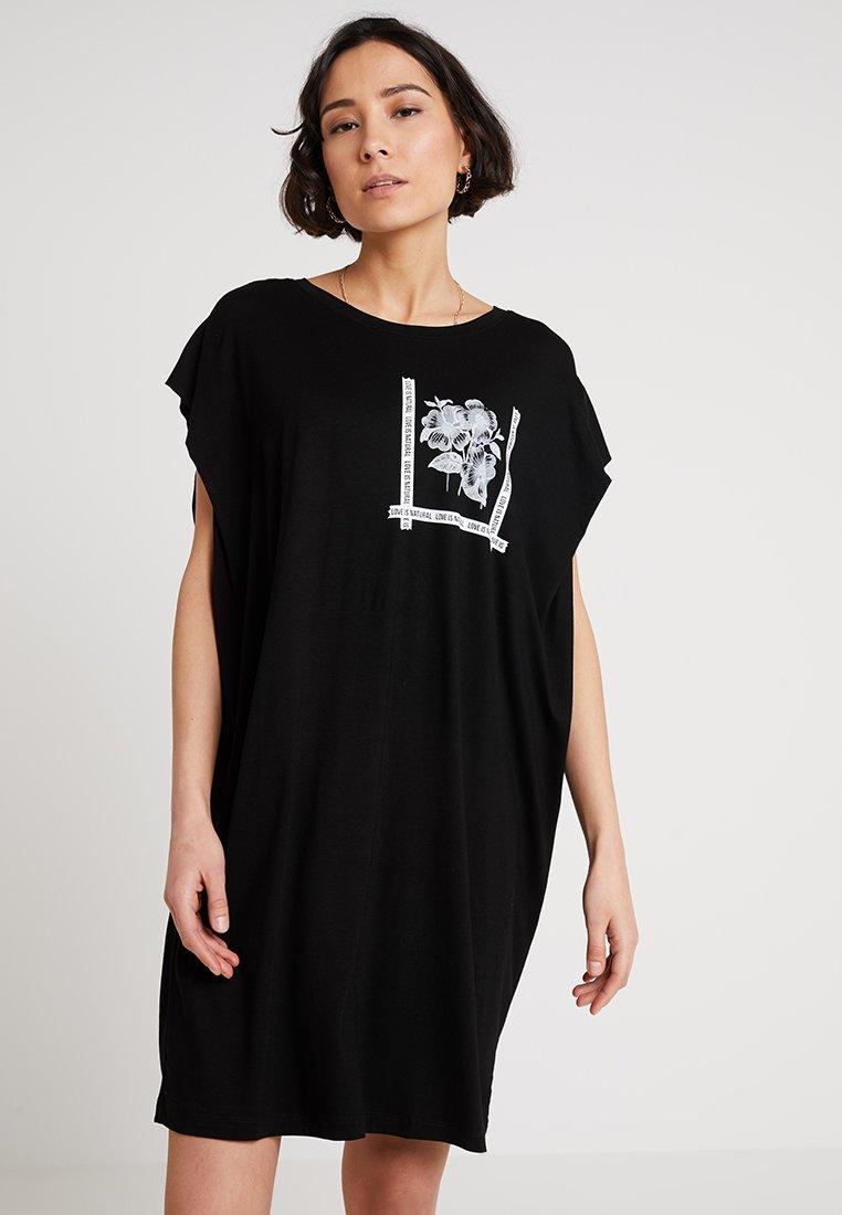 Bomboogie - Jerseykleid - black