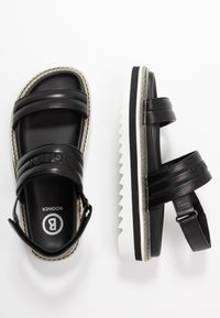 Bogner - ALICANTE  - Korkeakorkoiset sandaalit - black - 3