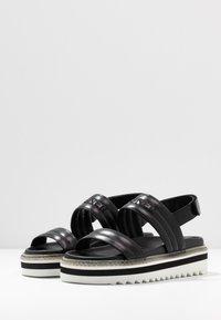 Bogner - ALICANTE  - Korkeakorkoiset sandaalit - black - 4
