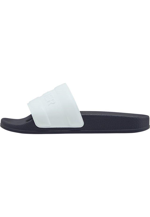 BOGNER SLIDES BELIZE - Sandales de bain - weiß