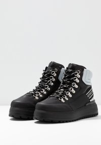 Bogner - ANTWERP - Boots à talons - black/silver - 4