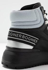 Bogner - ANTWERP - Boots à talons - black/silver - 2