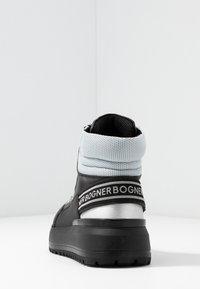 Bogner - ANTWERP - Boots à talons - black/silver - 5