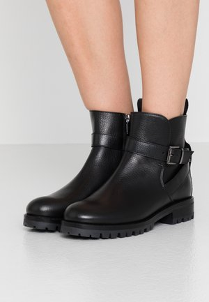 NEW MERIBEL  - Cowboy/biker ankle boot - black