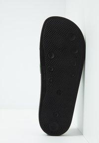 Bogner - BELIZE - Pantofle - black/olive - 4
