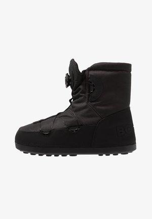 DAVOS 6 - Šněrovací kotníkové boty - black
