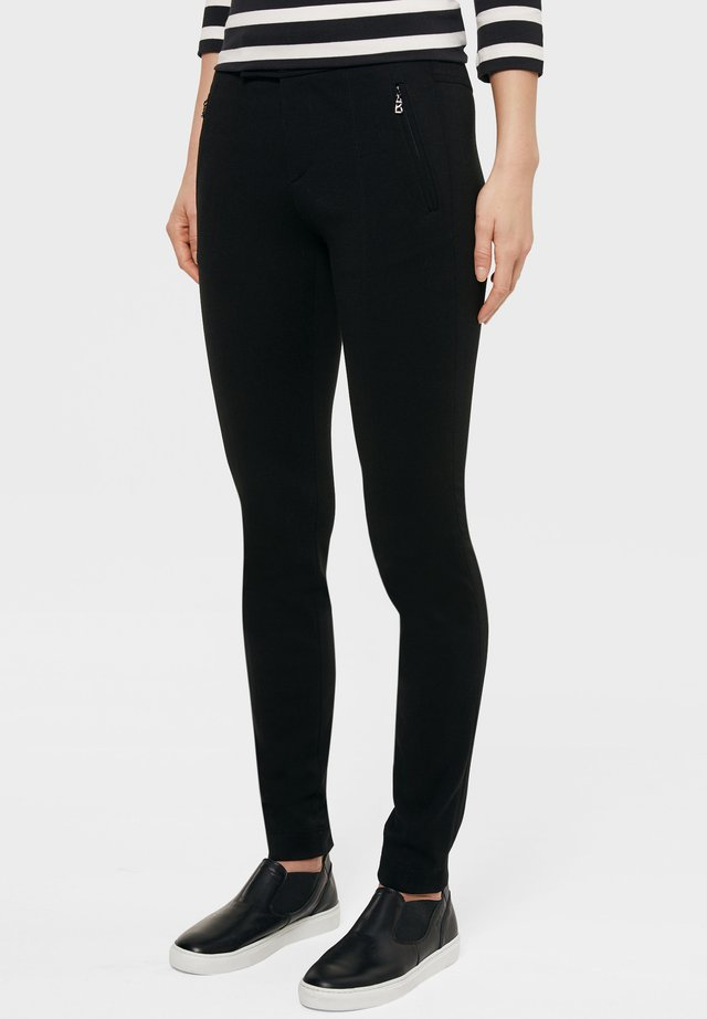 BOGNER STRETCH LINEA - Trousers - black