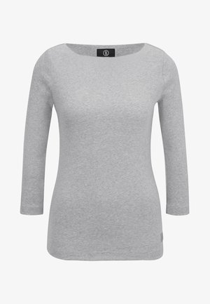 LOUNA - Longsleeve - mottled light grey