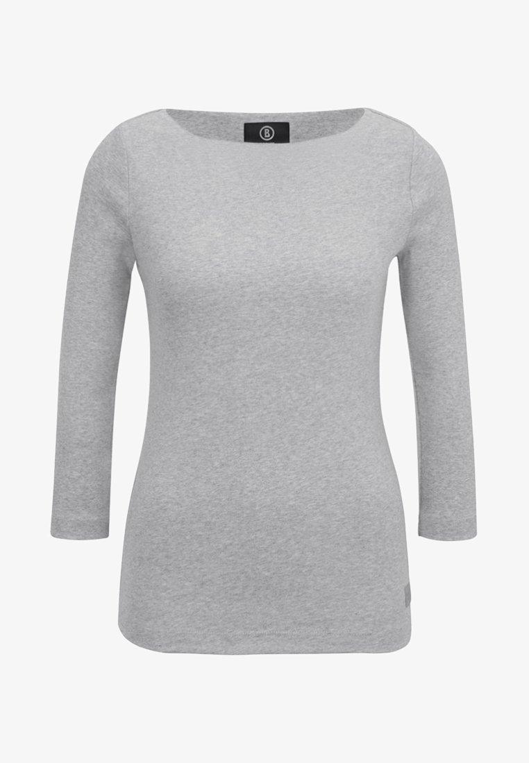 Bogner - LOUNA - Long sleeved top - mottled light grey