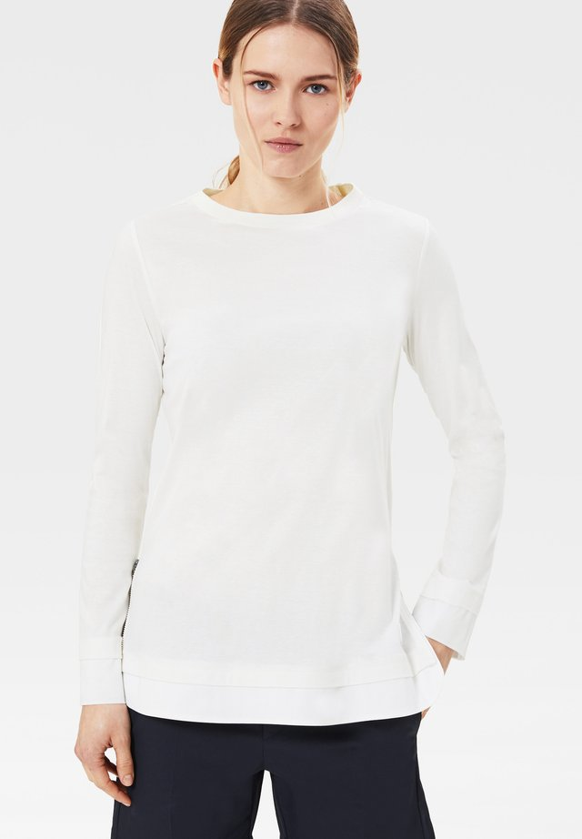 JUNA - Long sleeved top - off-white