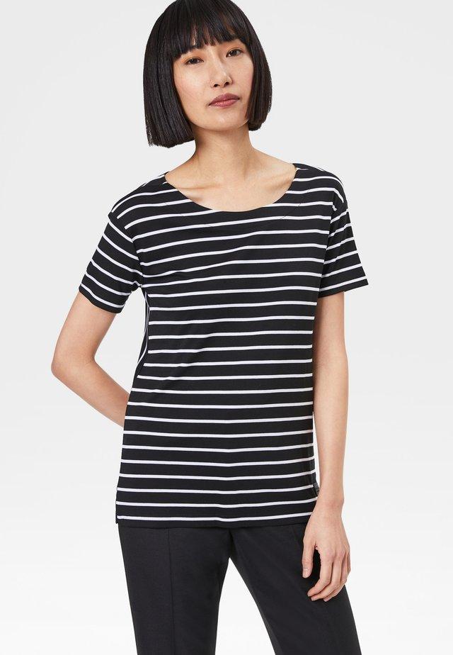 PEACHES - Print T-shirt - black/white