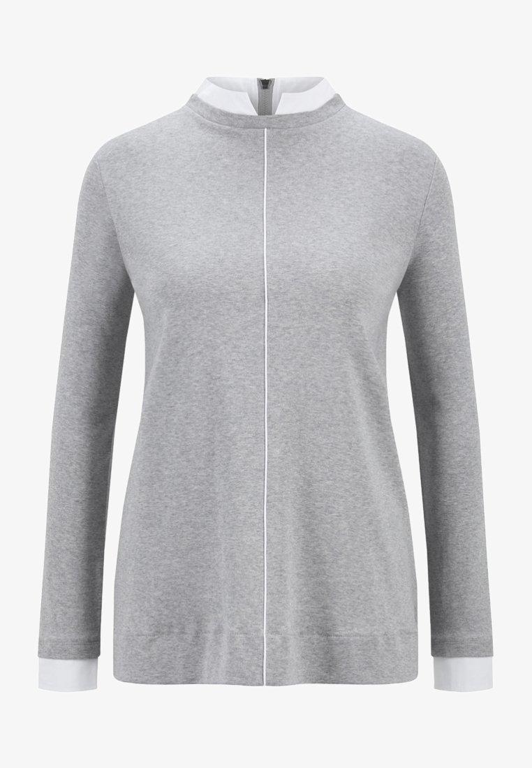 Bogner - YVETTE - Blouse - mottled light grey