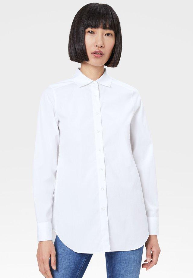 NETTY - Button-down blouse - white