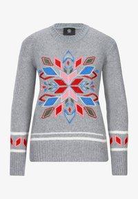 Bogner - YLVIE - Stickad tröja - grey - 3