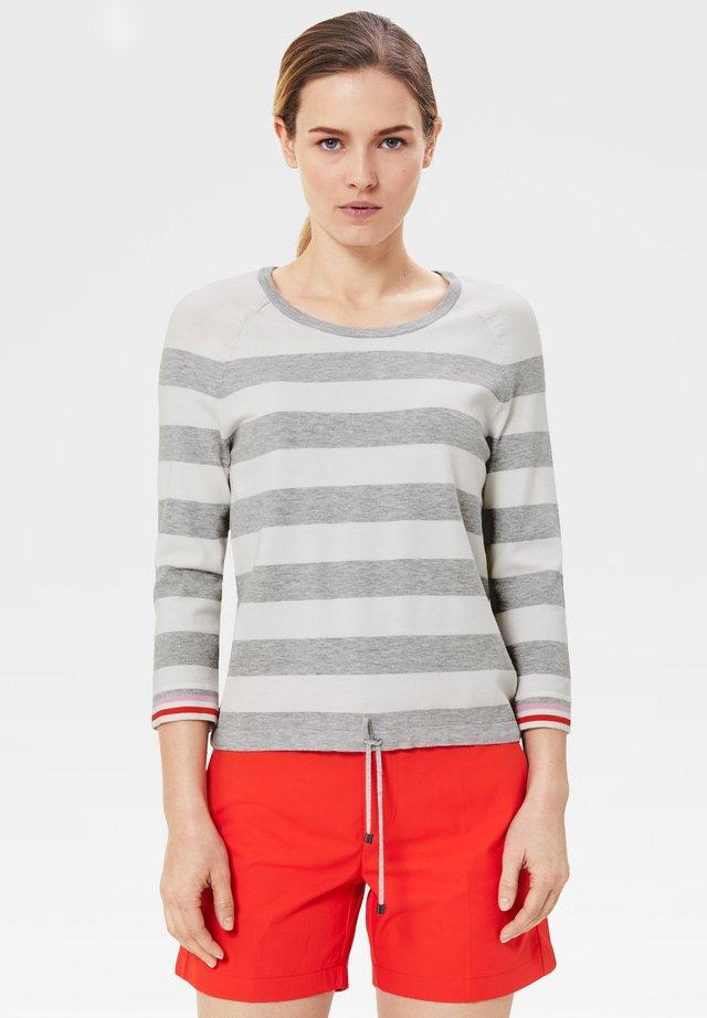 LIMA - Jumper - light grey/white