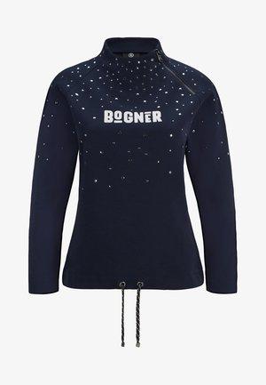 Sweater - navy blue