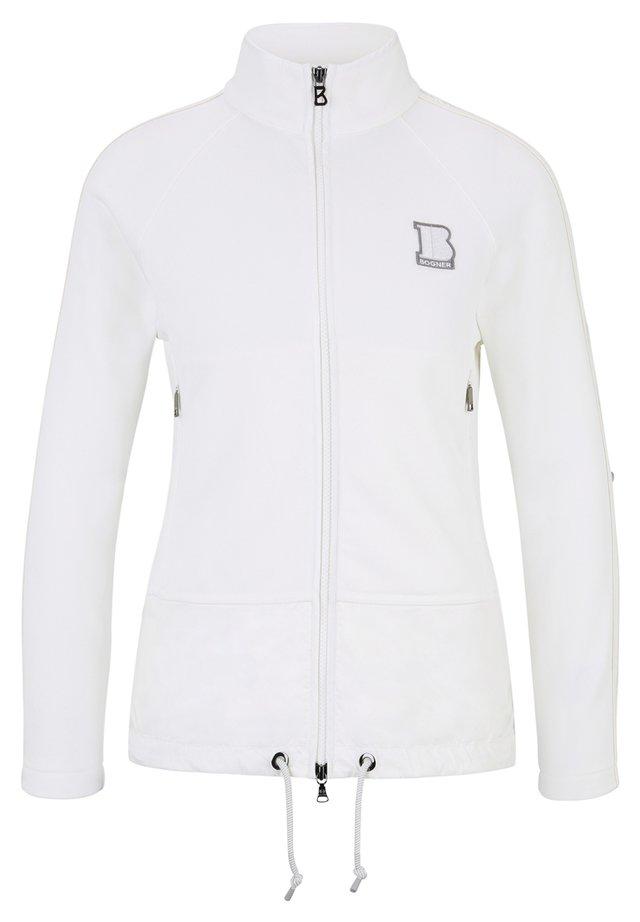 SWEATJACKE ELLY - Light jacket - off-white