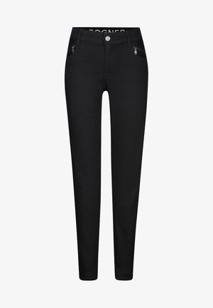 GRETA - Slim fit jeans - black