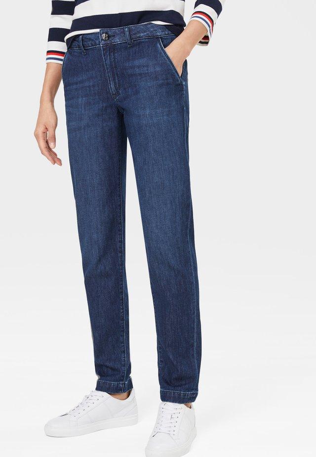ALISON - Jeans Straight Leg - dark denim blue