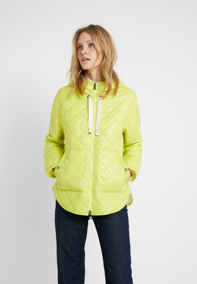 BELLA - Short coat - lemon