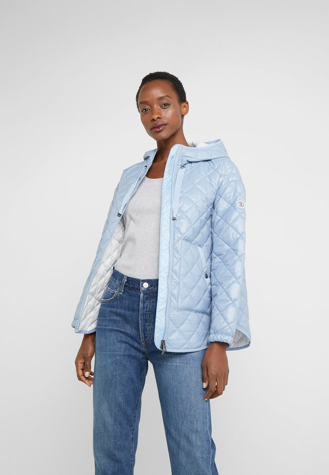 BELLA - Short coat - light blue