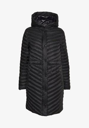 BROOKE - Abrigo de plumas - black