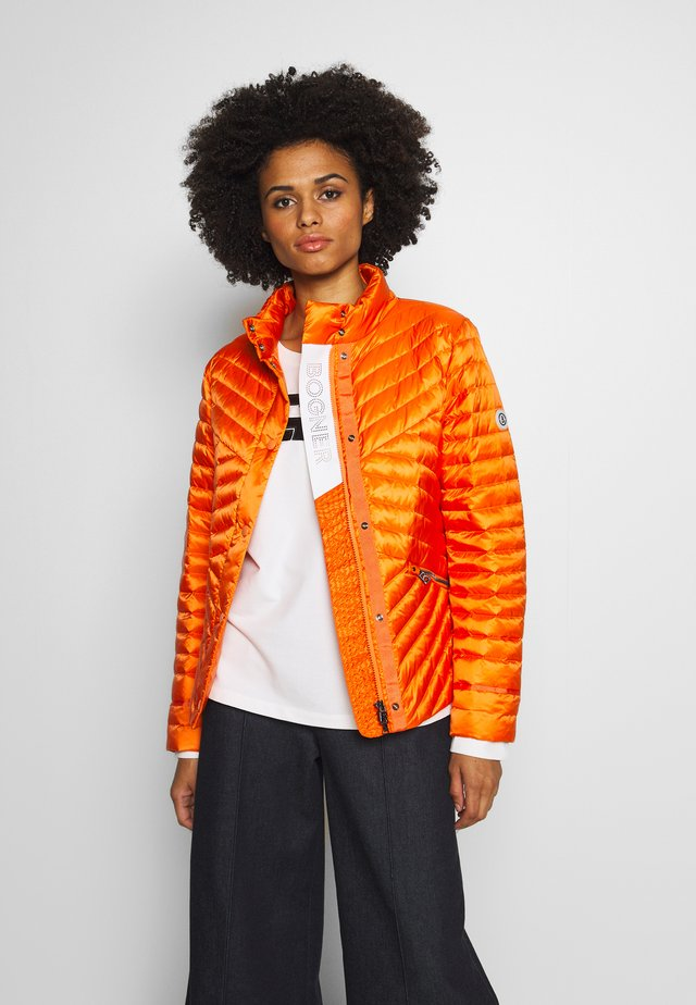 BESSY - Down jacket - orange